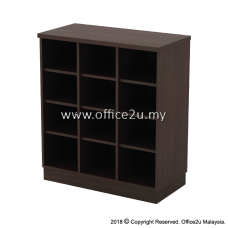 Q-YP9-W PIGEON 12 HOLES LOW CABINET