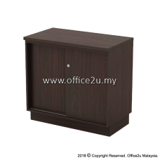 Q-YS875-W SLIDING DOOR LOW CABINET (HEIGHT : 750mm)
