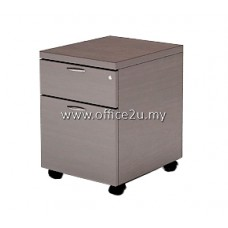 QM-2 QUINCY SERIES MOBILE PEDESTAL 1-DRAWER AND 1-FILING (1D1F)