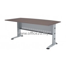 QMB-180A QUINCY SERIES CURVE-FRONT EXECUTIVE TABLE