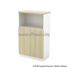 B-YOD13(E) SEMI SWINGING DOOR MEDIUM CABINET - CHAMFERED EDGE