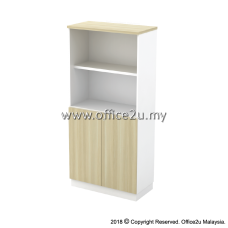 B-YOD17(E) SEMI SWINGING DOOR MEDIUM CABINET - CHAMFERED EDGE
