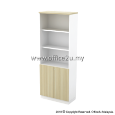 B-YOD21(E) SEMI SWINGING DOOR HIGH CABINET - CHAMFERED EDGE