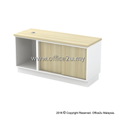 B-YOS1206 SIDE CABINET (OPEN SHELF + SLIDING DOOR)