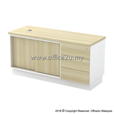 B-YSP1236(E) SIDE CABINET (SLIDING DOOR + FIXED PEDESTAL 3D)