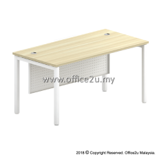 SMT SKYWALK SERIES RECTANGULAR TABLE WITH METAL MODESTY PANEL