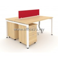 WS-N2 TWO SEATERS WORKSTATION