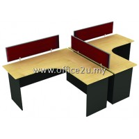 WS-V2-1515 TWO SEATERS WORKSTATION