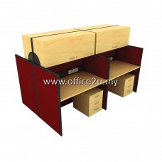 WS-AC4-1275 FOUR SEATERS WORKSTATION