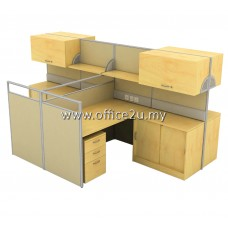 WS-L4 FOUR SEATERS WORKSTATION
