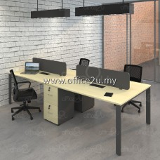 BM SERIES 4-SEATERS WORKSTATION : WS-BM4K