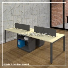 BM SERIES 4-SEATERS WORKSTATION : WS-BM4F