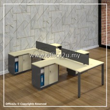 BM SERIES 4-SEATERS WORKSTATION : WS-BM4H