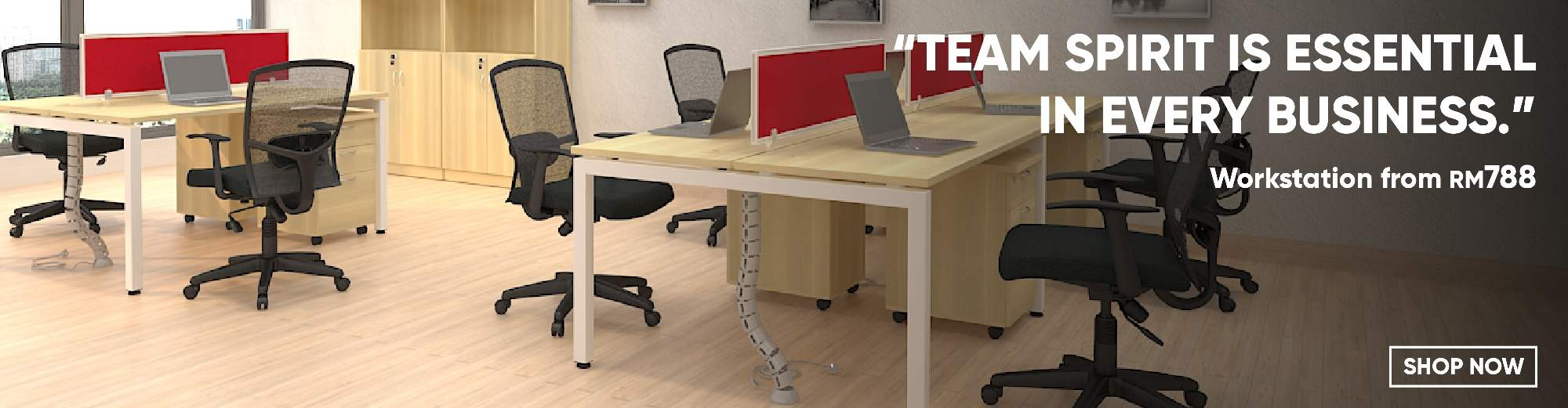 2-seater Workstations
